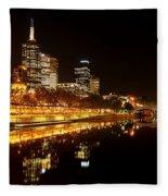 City Glow Fleece Blanket