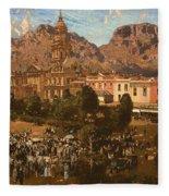 City Hall - Capetown 1917 Fleece Blanket
