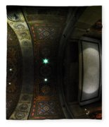 City Hall Ceiling Talents Diversified Find Vent In Myriad Form Fleece Blanket