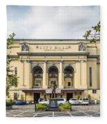 City Hall In Manila Philippines Fleece Blanket