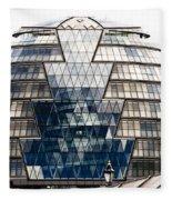 City Hall London Fleece Blanket
