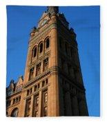 City Hall - Milwaukee Fleece Blanket