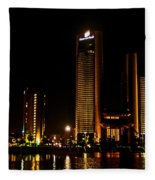 City Lights Fleece Blanket