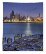 City Lights Fleece Blanket