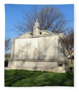 City Memorial Gainesville Texas Fleece Blanket