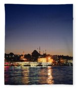 Colours Of Istanbul Fleece Blanket