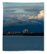 City Of Anchorage  Fleece Blanket