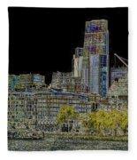 City Of London Art Fleece Blanket
