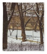 City Park Fleece Blanket