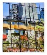 City Reflections By Diana Sainz Fleece Blanket