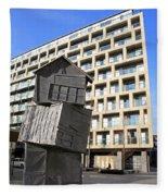 City Sculpture London Fleece Blanket
