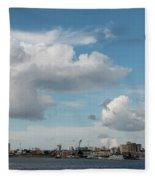City Skyline, Manaus, Brazil Fleece Blanket
