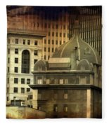 City View Fleece Blanket