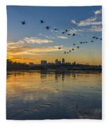 City Wakes Fleece Blanket
