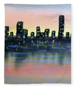 City Water Fleece Blanket