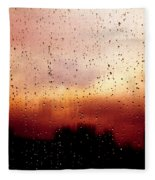 City Window Fleece Blanket