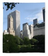 Cityview Form Central Park Fleece Blanket