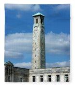 Civic Centre Southampton Fleece Blanket