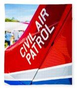 Civil Air Patrol Fleece Blanket
