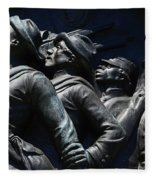 Civil War Figures Fleece Blanket