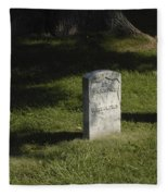 Civil War Unknown Dead Fleece Blanket