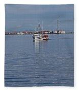 Clallam Bay Fleece Blanket