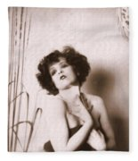 Clara Bow Fleece Blanket