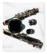 Clarinet Fleece Blanket