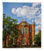 Clark Hall - University Of Alabama Fleece Blanket