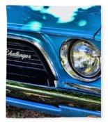 Classic 1974 Dodge Challenger Fleece Blanket
