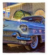 Classic Blue Caddy At Night Fleece Blanket