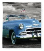 Classic Blue Chevy Fleece Blanket