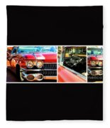 Classic Caddy Inside And Out Fleece Blanket
