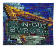Classic Cali Burger 2.2 Fleece Blanket
