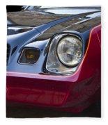 Classic Chevrolet Camaro Fleece Blanket