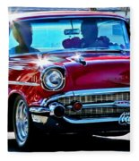 Classic Chevrolet Fleece Blanket
