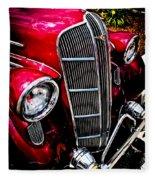 Classic Dodge Brothers Sedan Fleece Blanket