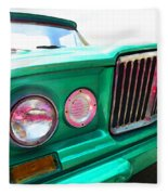 Classic Jeep J3000 4 Wheel Drive By Sharon Cummings Fleece Blanket