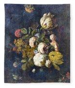 Classical Bouquet - S0104t Fleece Blanket