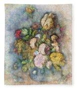 Classical Bouquet - V01c Fleece Blanket