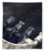Claw - Industrial Photography By Sharon Cummings Fleece Blanket