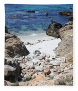 Clear California Cove Fleece Blanket