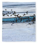 Cleared To Land Fleece Blanket
