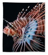 Clearfin Lionfish Fleece Blanket