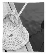 Cleat Hitch Fleece Blanket