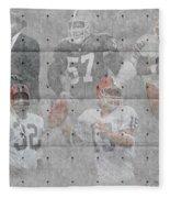 Cleveland Browns Legends Fleece Blanket