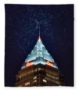 Cleveland Electrified Fleece Blanket