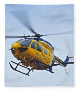 Cleveland Metro Life Flight Fleece Blanket