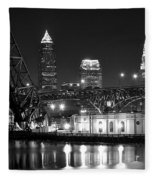 Cleveland Shining Bright Fleece Blanket