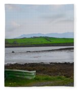 Clew Bay County Mayo Ireland Fleece Blanket